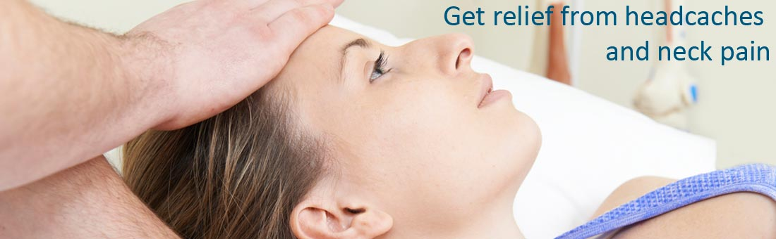 Get relief from headaches and neck pain